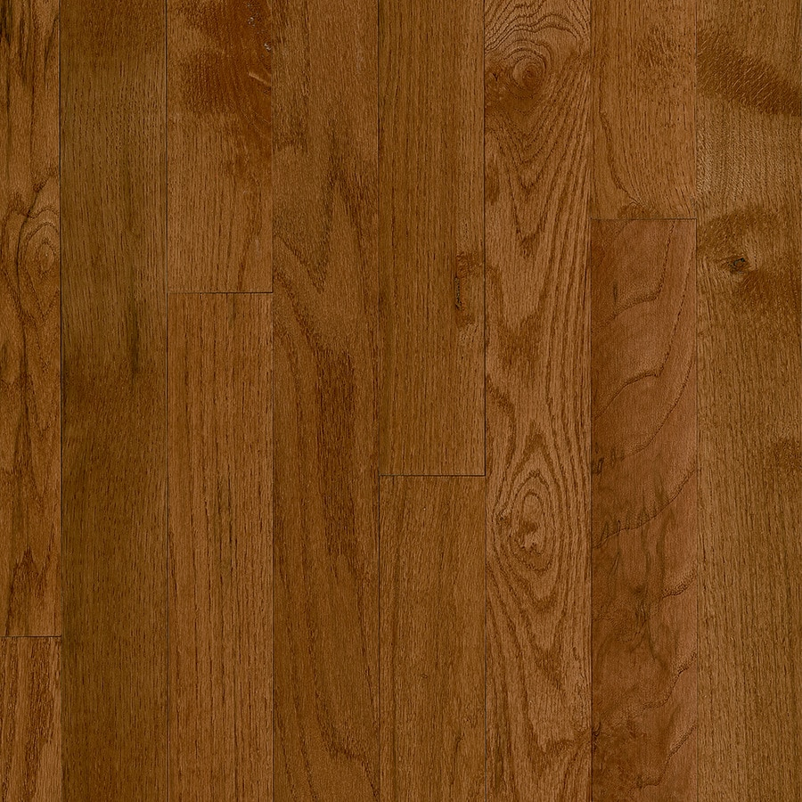 Shop bruce frisco gunstock oak solid hardwood for Solid hardwood flooring