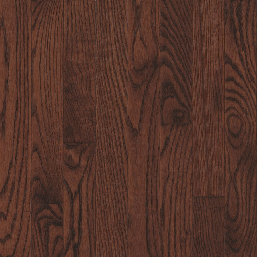 Shop bruce america 39 s best choice 5 in w prefinished oak for Cherry hardwood flooring