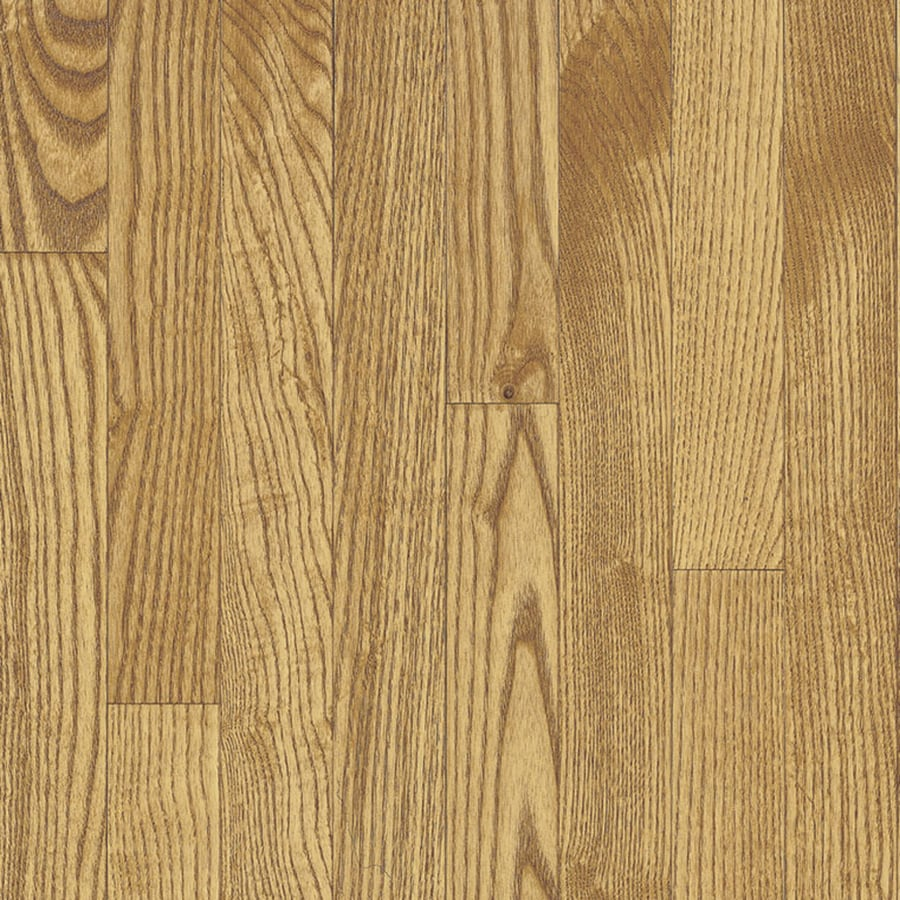 Bruce Oak Hardwood Flooring Sample (Seashell)