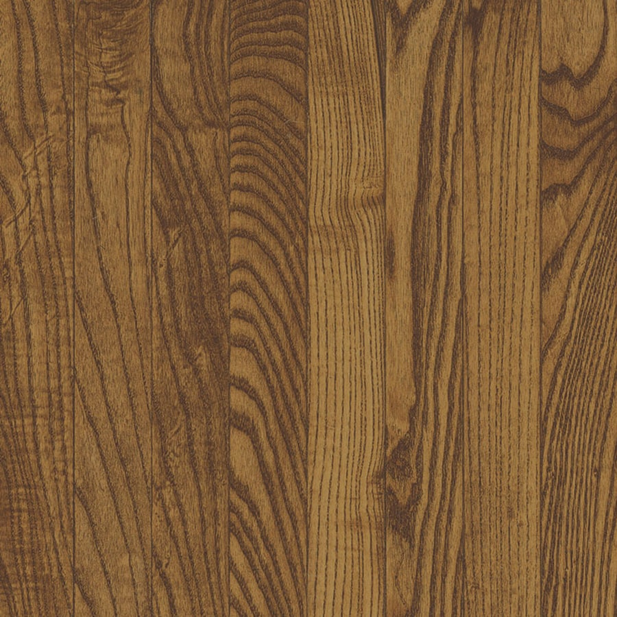 Shop bruce oak hardwood flooring sample fawn at for Bruce hardwood flooring