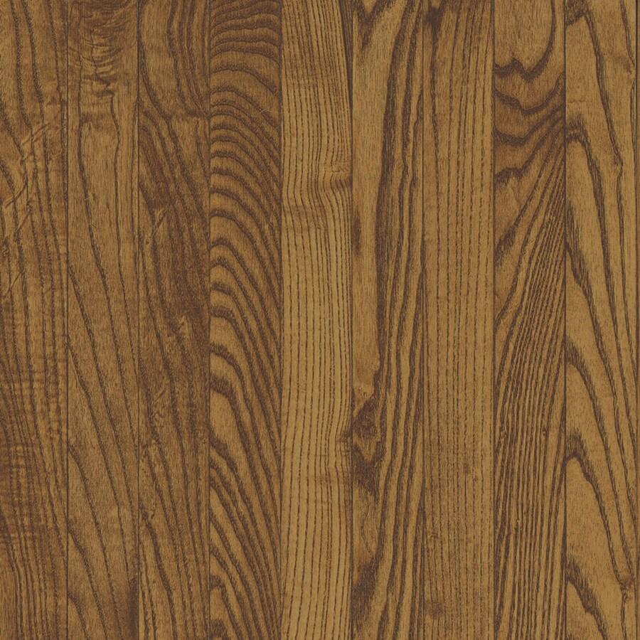 Bruce Oak Hardwood Flooring Sample (Fawn)