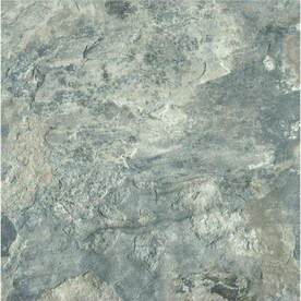 Armstrong Flooring Crescendo French Gray 12-in x 12-in Groutable Water Resistant Peel and Stick Vinyl Tile (1-sq ft)