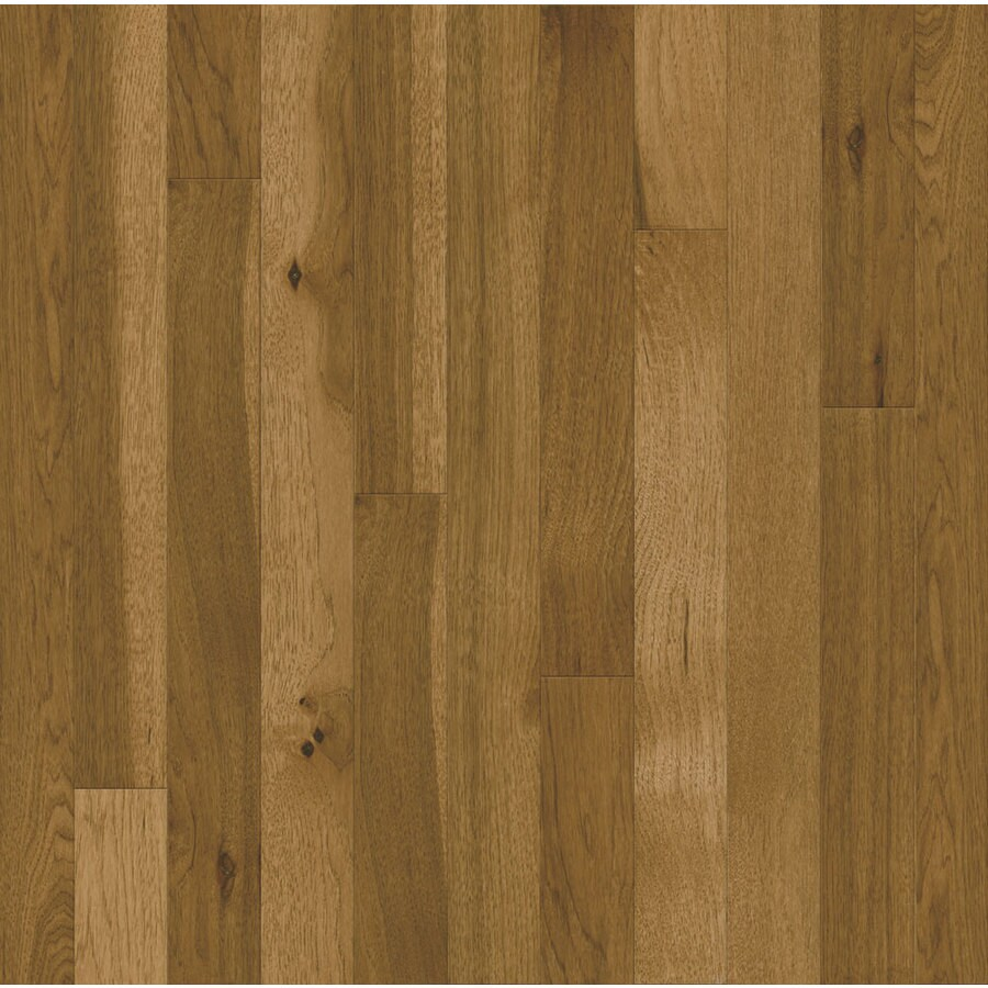Prefinished Hardwood Flooring Cleaning: Bruce Frisco 2.25-in W Prefinished Hickory Hardwood