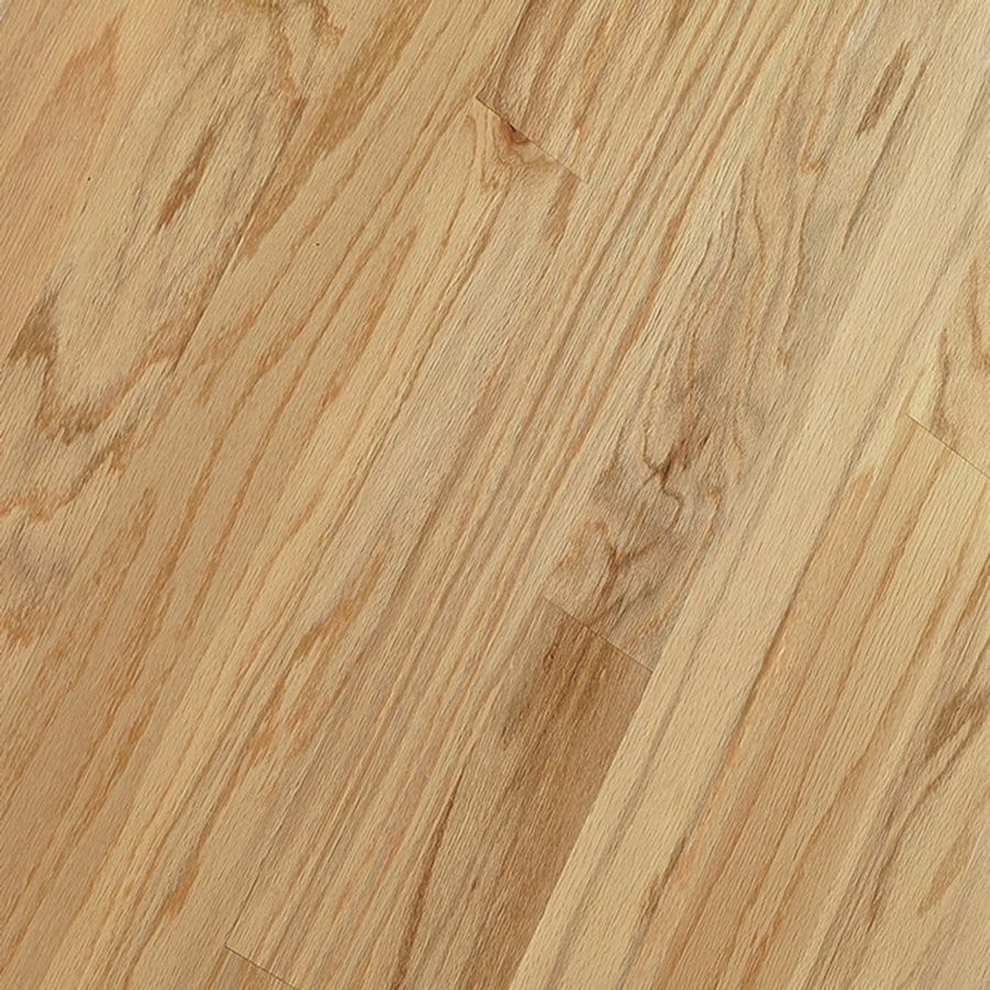 Shop bruce springdale plank prefinished toast engineered for Bruce hardwood flooring