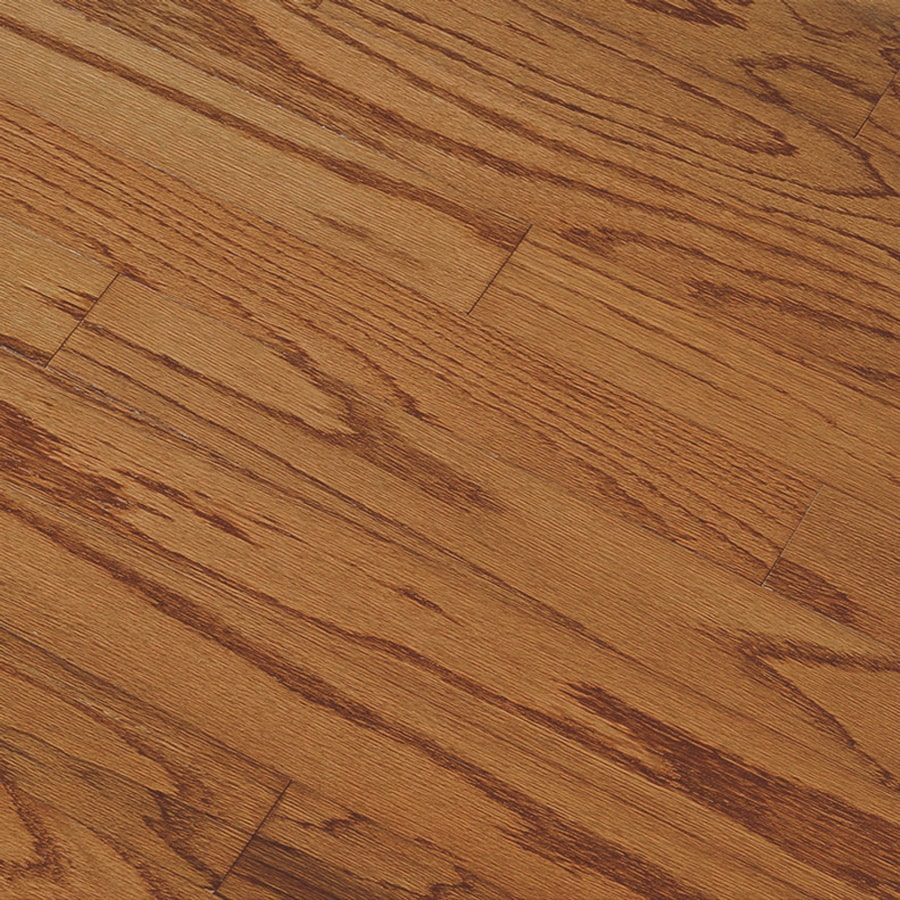 Shop bruce springdale plank prefinished gunstock for Engineered oak flooring