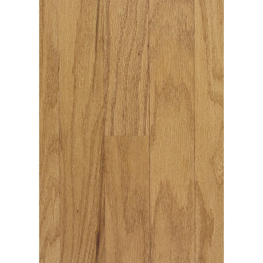 Shop hartco beaumont plank 3 in w prefinished oak for Prefinished solid hardwood flooring