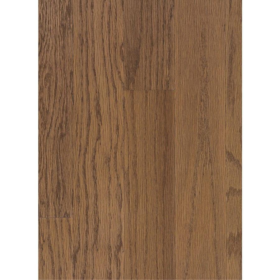 Hartco Beaumont Plank 3-in W Prefinished Oak Engineered Hardwood Flooring (Saddle)