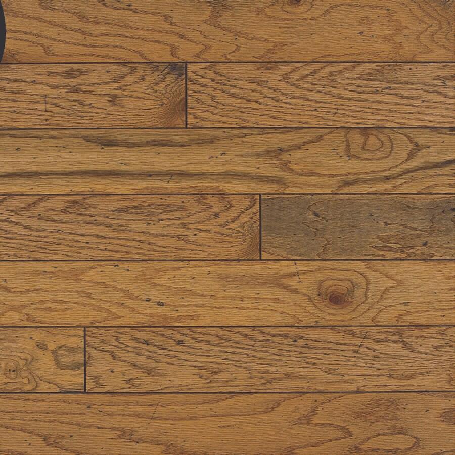Bruce Baltic Plank 5 In W Prefinished Oak Engineered Hardwood Flooring Honey