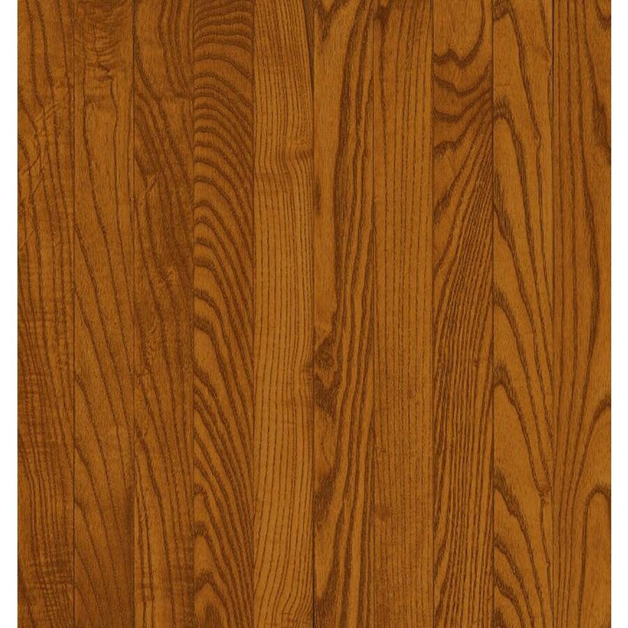 Bruce Oak Hardwood Flooring Sample (Gunstock)
