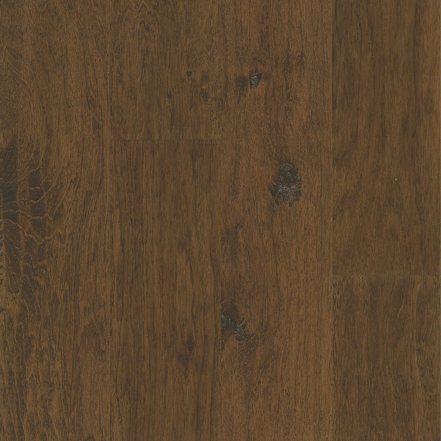 Bruce Hickory Hardwood Flooring Sample (Apple Cider)