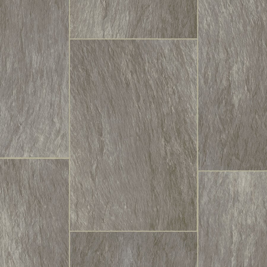 STAINMASTER Osset Rock 12-ft W Thundercloud Stone Low-Gloss Finish Sheet Vinyl