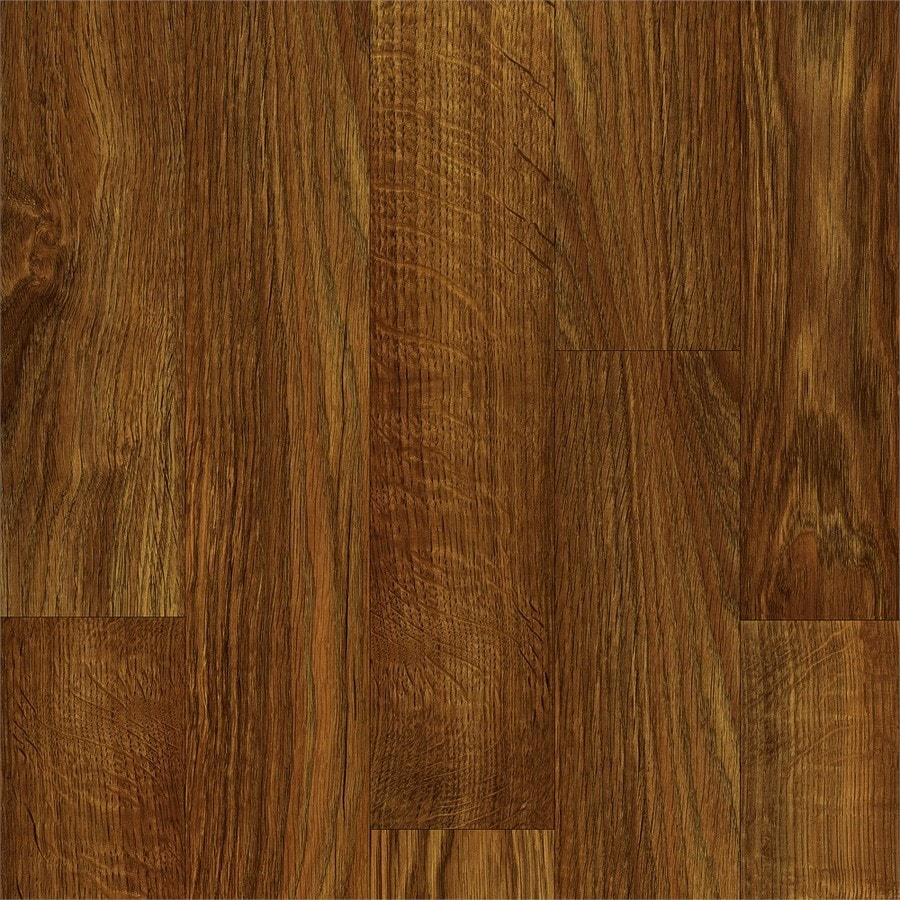 Shop armstrong flooring pickwick landing i 12 ft w x cut for Dark wood vinyl flooring