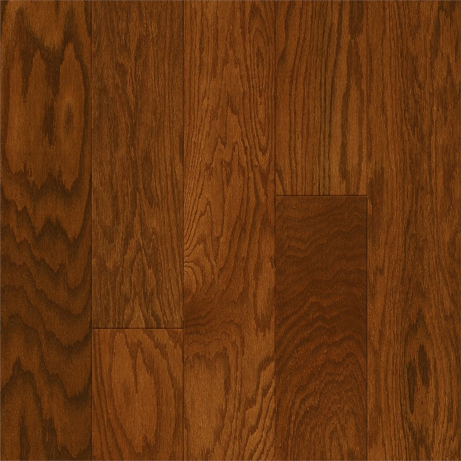 Style Selections 5-in Gunstock Oak Engineered Hardwood