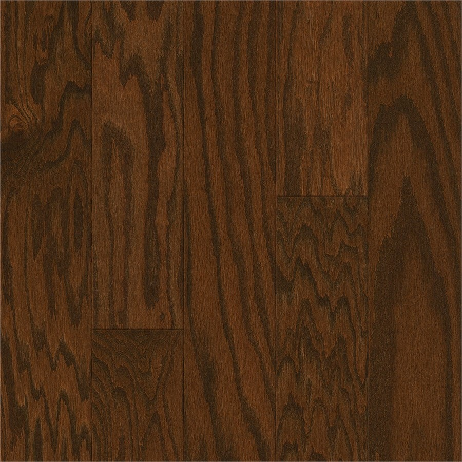 Shop Style Selections 5 In Saddle Oak Engineered Hardwood