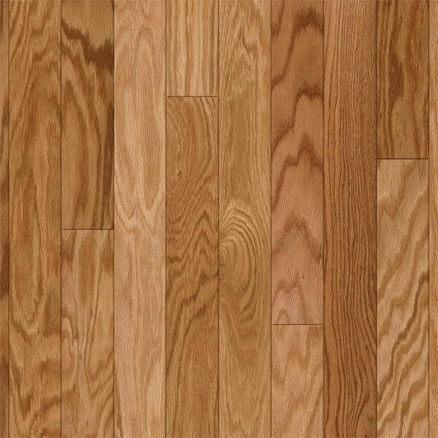 Style Selections Oak Hardwood Flooring Sample (Natural)