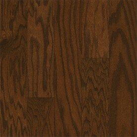style selections oak hardwood flooring sample saddle