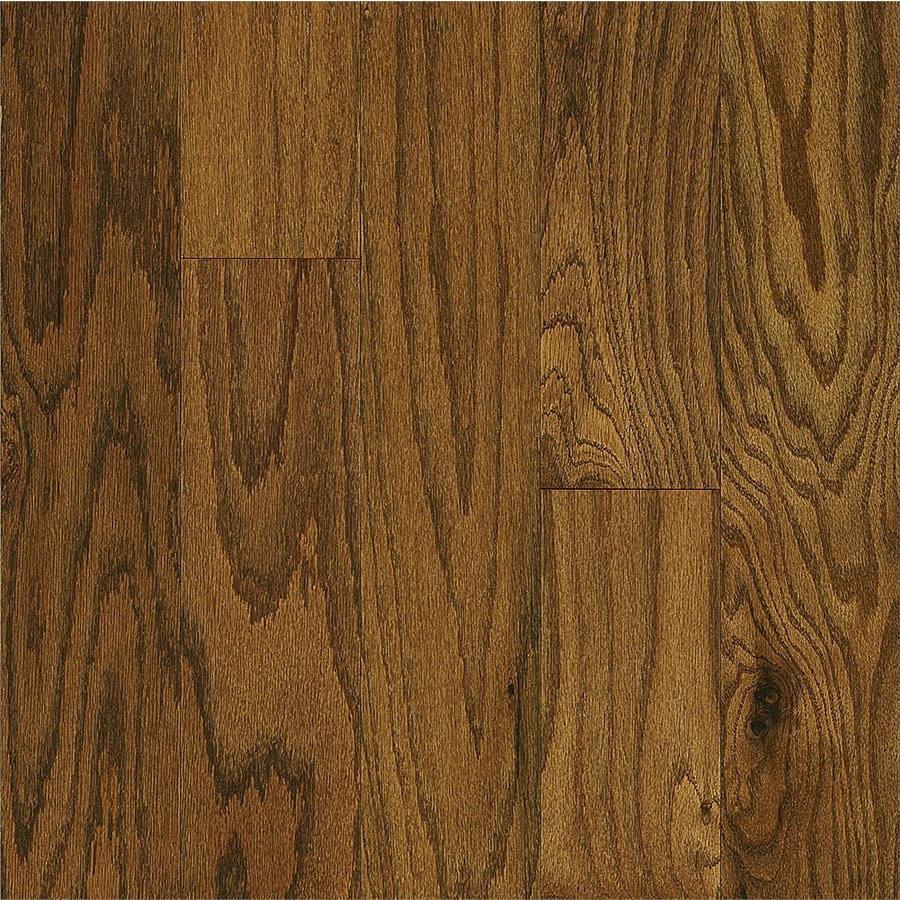 Style Selections Oak Hardwood Flooring Sample (Spice)