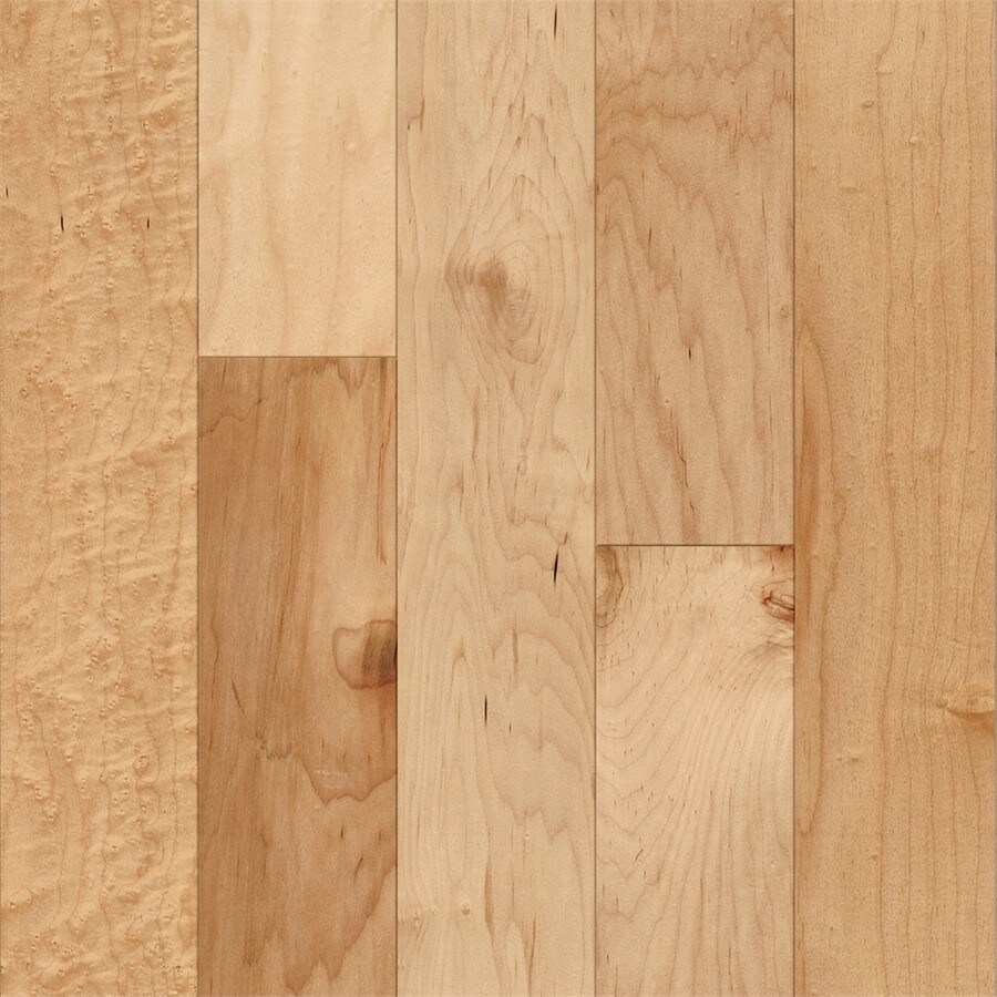 Price Of Maple Hardwood Flooring: Style Selections Maple Hardwood Flooring Sample (Country