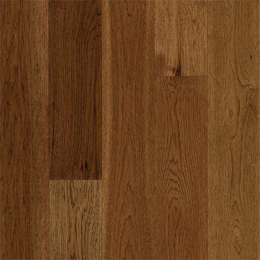 Shop bruce america 39 s best choice 5 in honey grain solid for Hickory flooring
