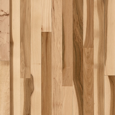 Frisco 2 25 In Country Natural Hickory Solid Hardwood Flooring 20 Sq Ft