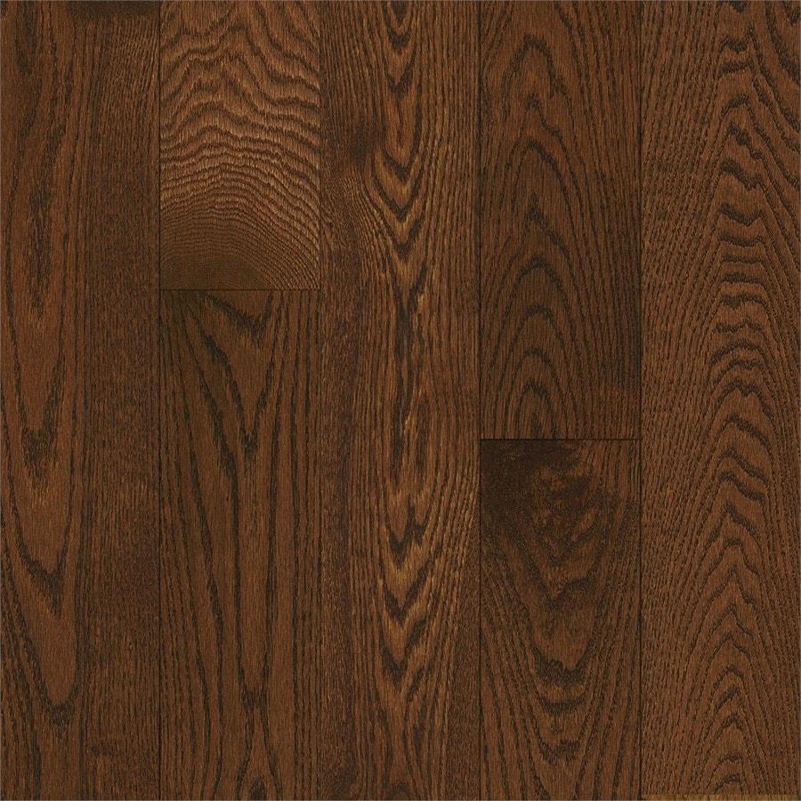 Bruce Oak Hardwood Flooring Sample (Saddle)