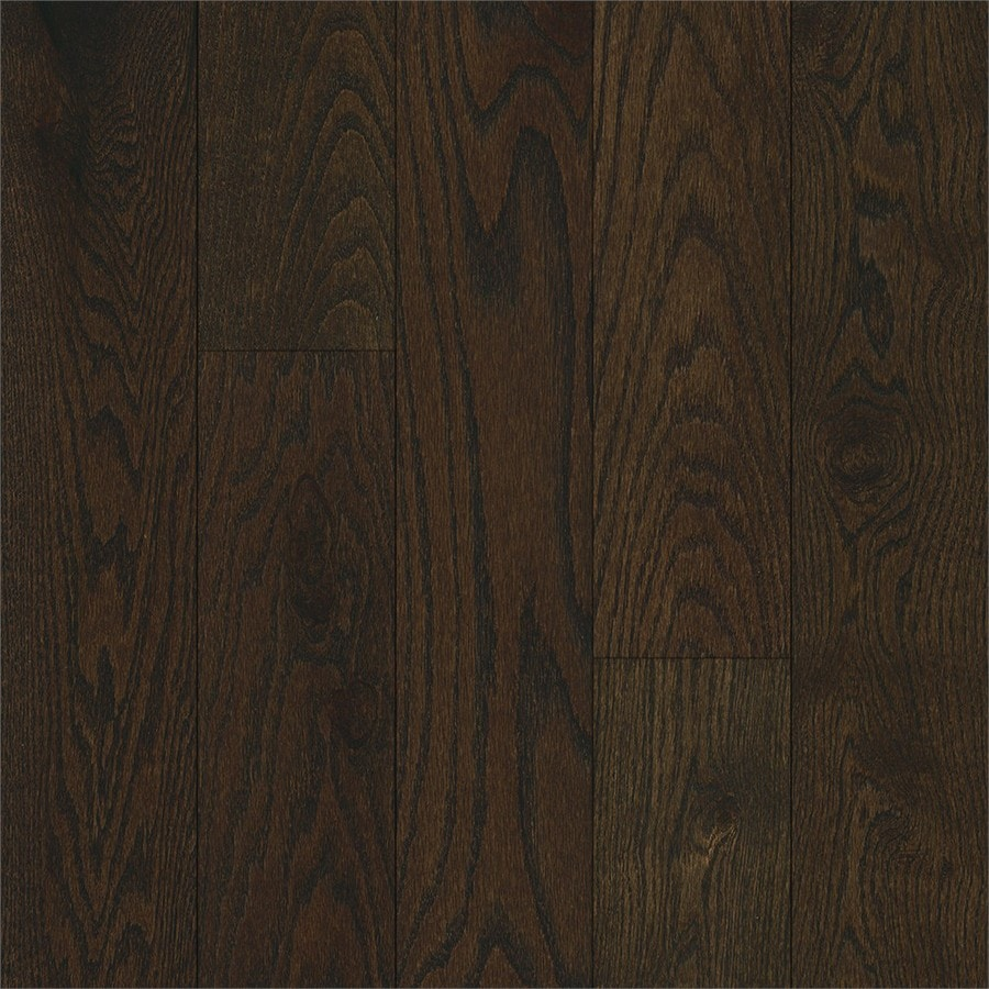 Shop Bruce Oak Hardwood Flooring Sample Mocha Java At