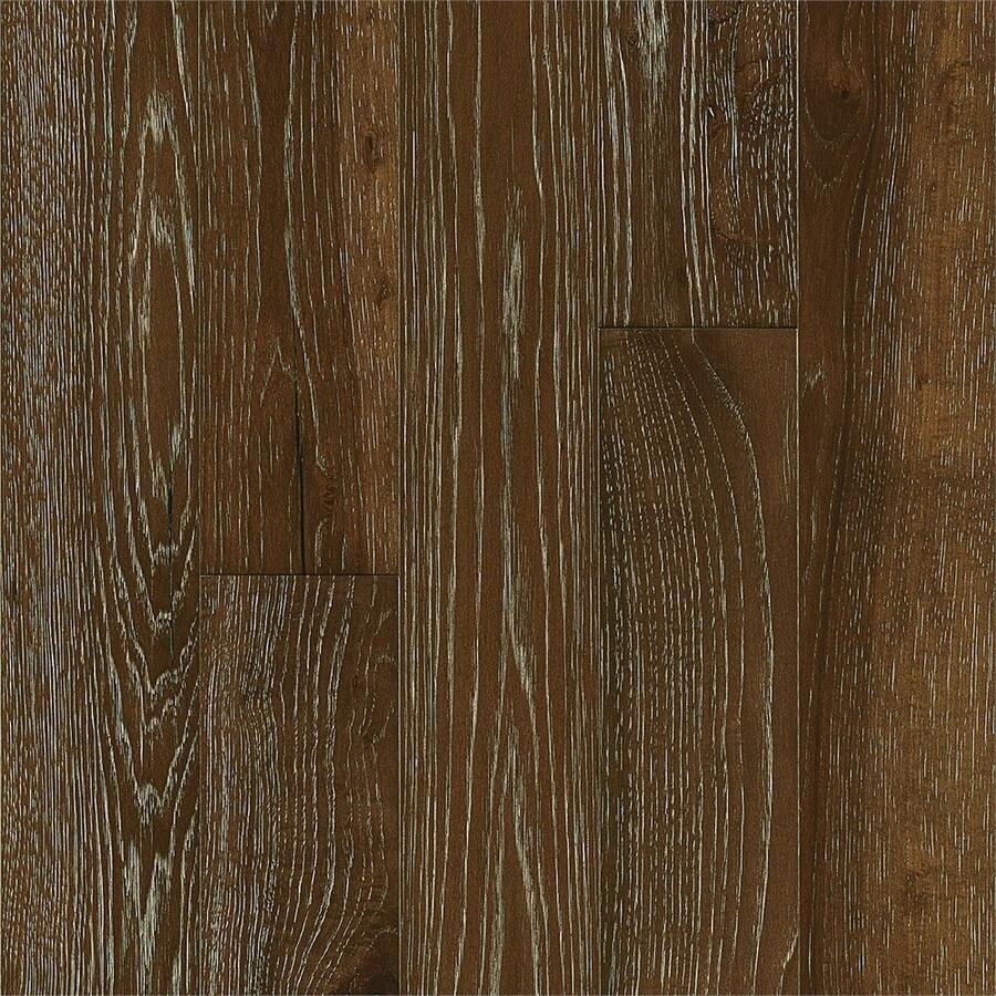 Bruce Brushed Impressions 5-in Riverside Walk Hickory Engineered Hardwood Flooring (39.37-sq ft)