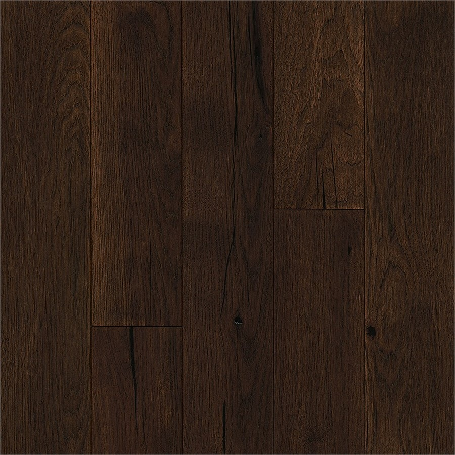 Bruce Brushed Impressions 5-in Garden Bridge Hickory Engineered Hardwood Flooring (39.37-sq ft)