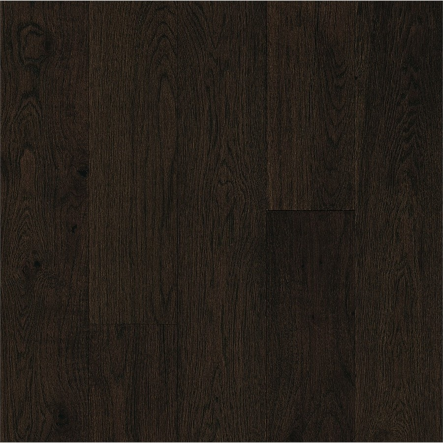 Bruce Brushed Impressions 5-in Parisian Cafe Engineered Hickory Hardwood Flooring (39.37-sq ft)