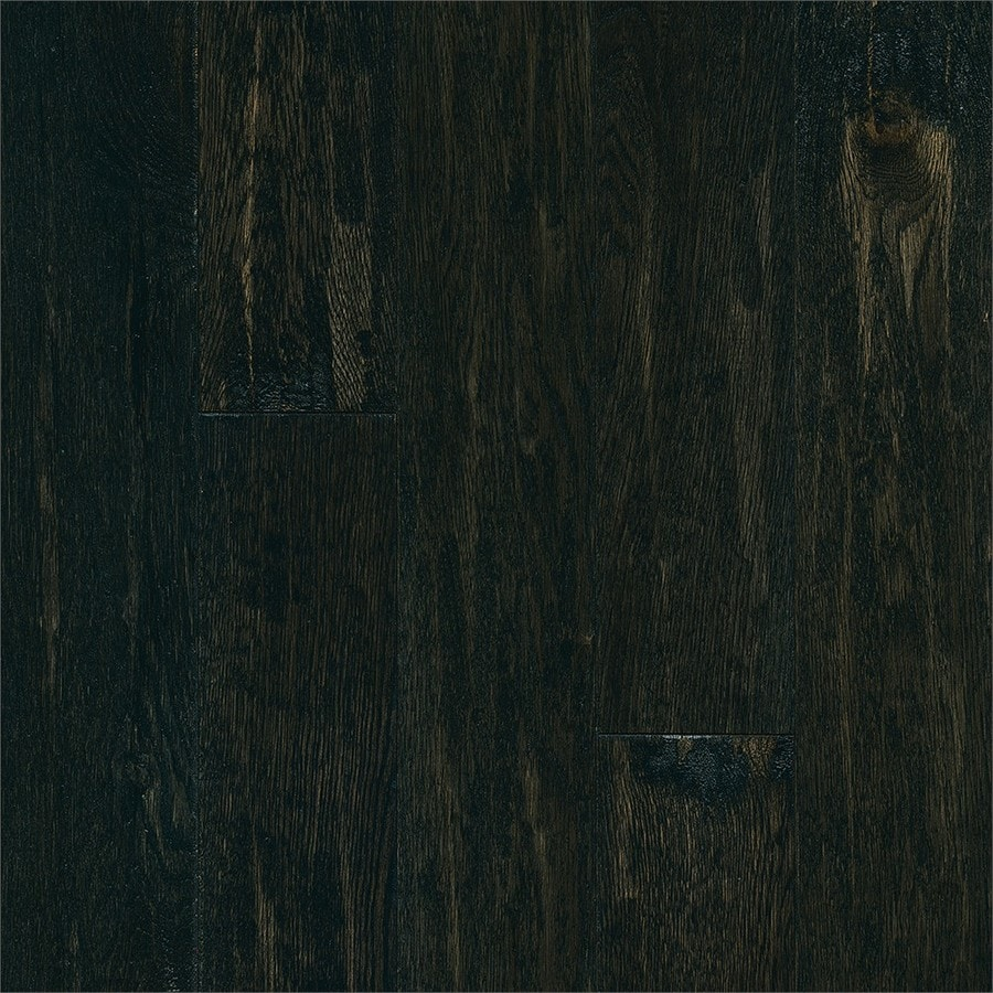 Bruce Signature Scrape 5-in Winter Night Handscraped Oak Hardwood Flooring (23.5-sq ft)