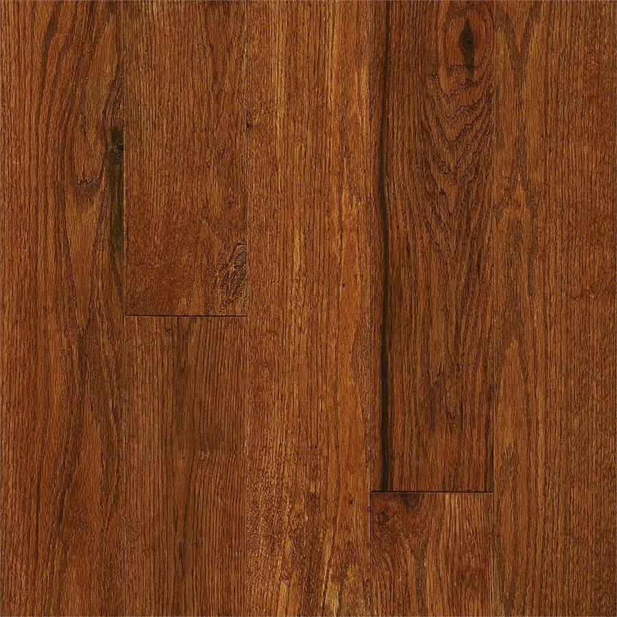 Shop bruce signature scrape 5 in prefinished gunstock oak for Bruce hardwood flooring