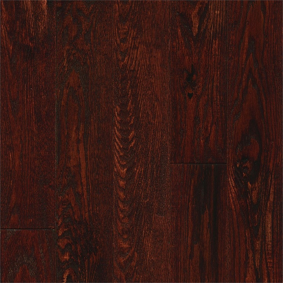 Bruce Signature Scrape 5-in Autumn Oak Solid Hardwood Flooring (23.5-sq ft)
