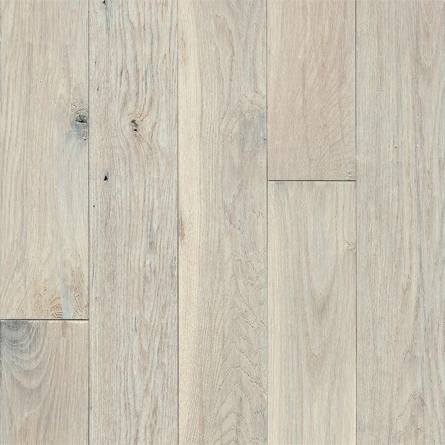 Bruce Signature Scrape 3.25-in Prefinished Snow Peak Oak Hardwood Flooring (22-sq ft)