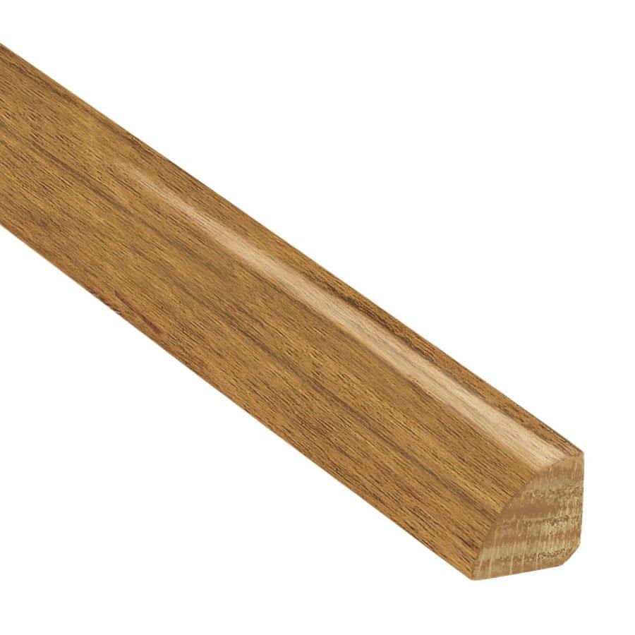 Shop bruce x 78 in gunstock oak quarter round for Floor quarter round