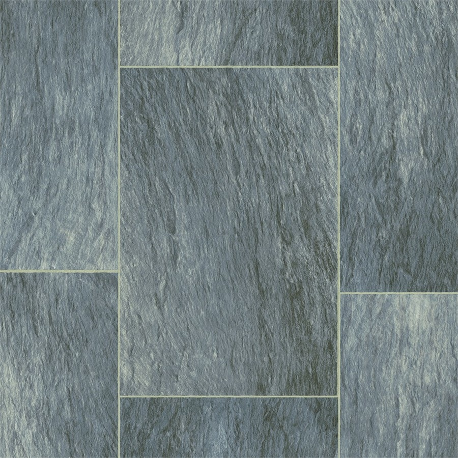 Shop armstrong flooring osset rock 12 ft w x cut to length for Sheet vinyl flooring