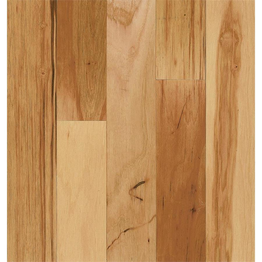 Shop style selections hickory hardwood flooring sample for Natural wood flooring