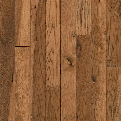 America S Best Choice 3 25 In Honey Grove Hickory Solid Hardwood Flooring 22 Sq Ft