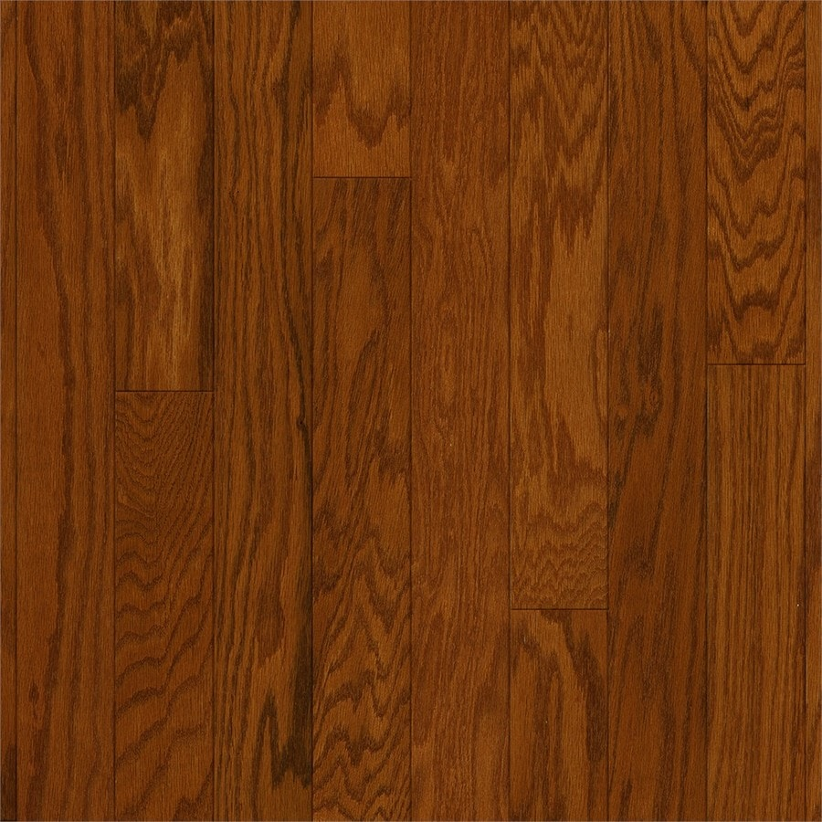 Style Selections Oak Hardwood Flooring Sample Gunstock