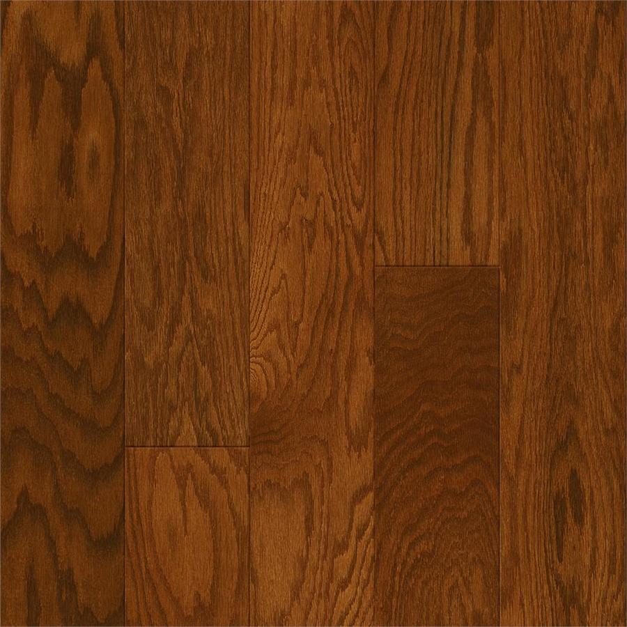Style Selections Oak Hardwood Flooring Sample (Gunstock)
