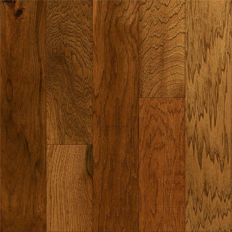 Style Selections Hickory Hardwood Flooring Sample (Autumn