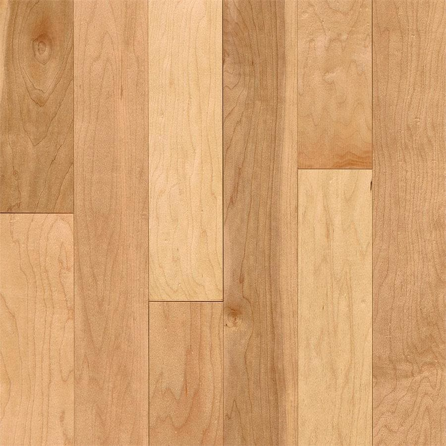 Bruce Trutop 3 375 In Natural Maple Engineered Hardwood Flooring 21 Sq Ft