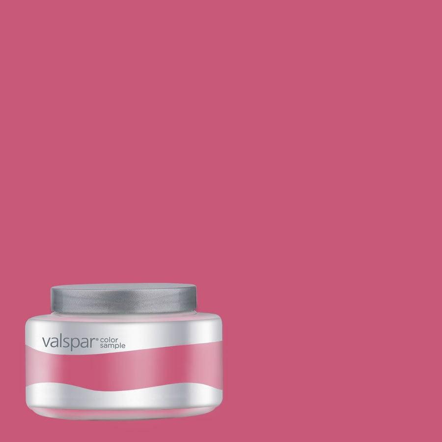 Valspar 8 oz Very Berry Interior Satin Paint Sample