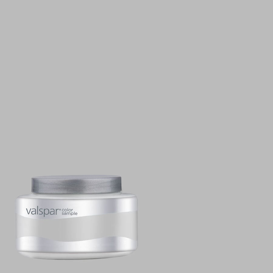 Valspar 8-oz Autumn Fog Interior Satin Paint Sample