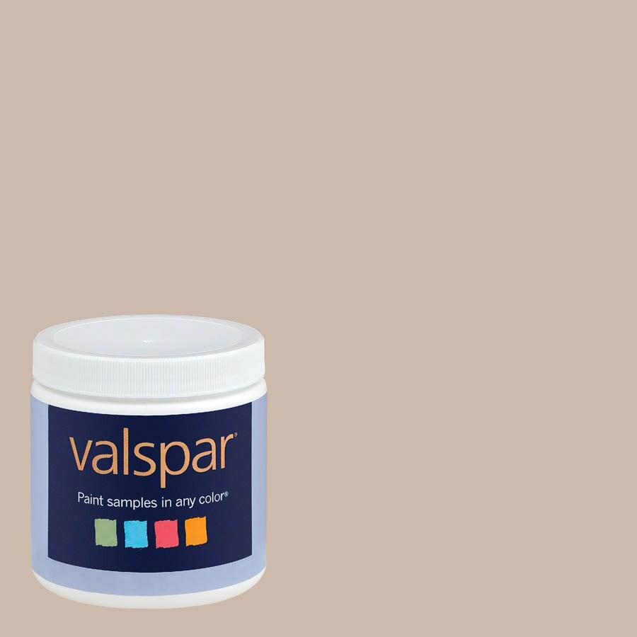 Valspar 8-oz Frappe Interior Satin Paint Sample