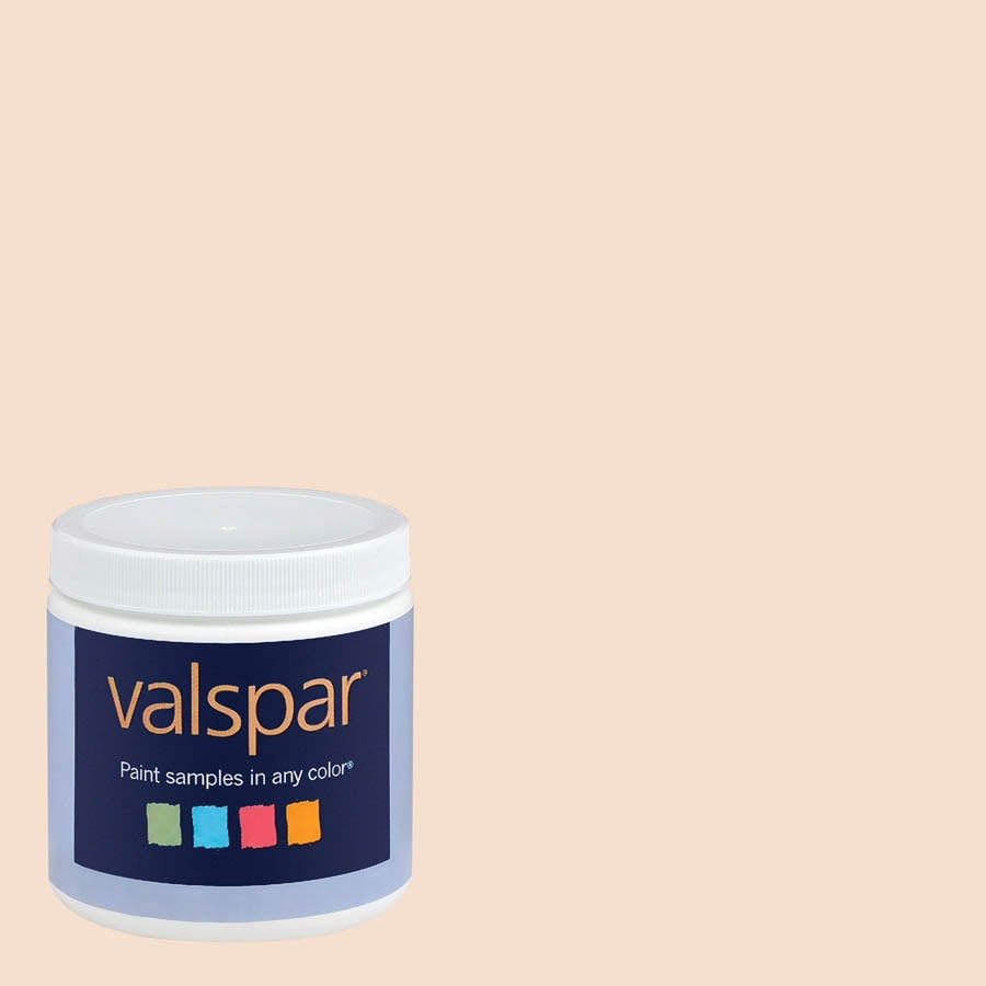 Valspar 8-oz Cream In My Coffee Interior Satin Paint Sample