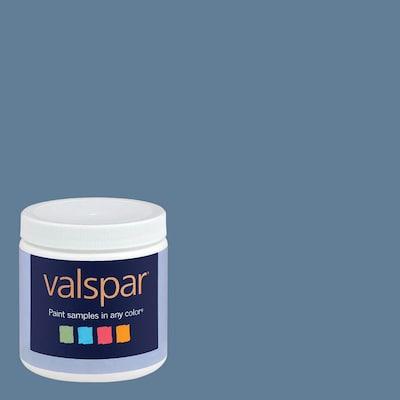Valspar 8 Oz Paint Sample Denim Blue At Lowes Com