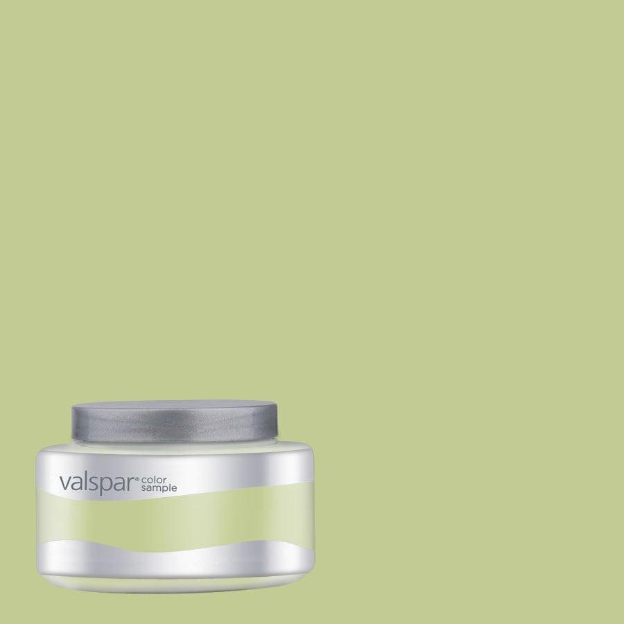 shop valspar 8 oz tawny green interior satin paint sample