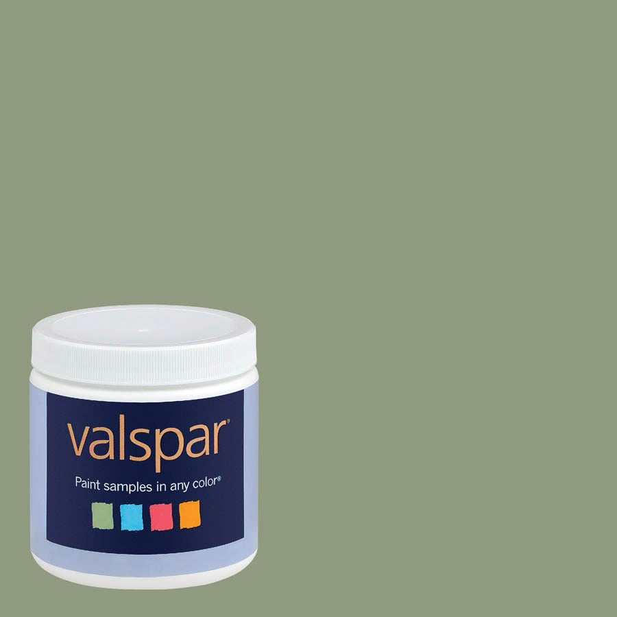 Creative Ideas for Color by Valspar 8-oz Pebble Creek Interior Satin Paint Sample