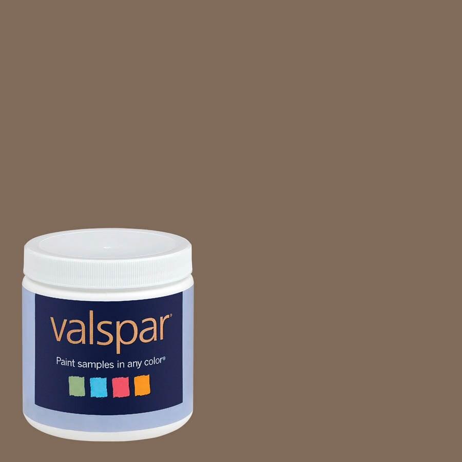Eddie Bauer Colors by Valspar 8-oz Bittersweet Interior Satin Paint Sample