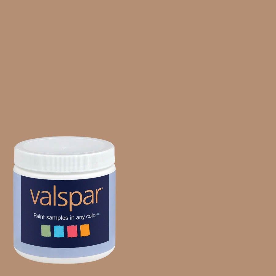 Eddie Bauer Colors by Valspar 8-oz Winter Wheat Interior Satin Paint Sample